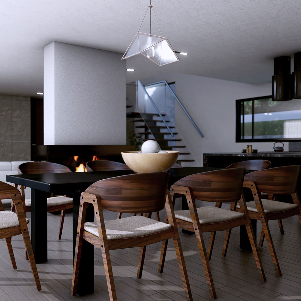 The Contemporary Swiss Chalet – Interior