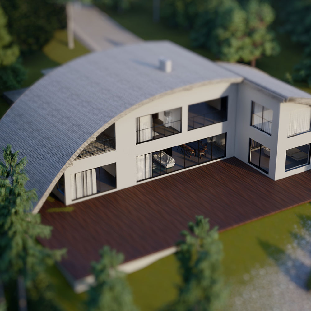 The Contemporary Swiss Chalet